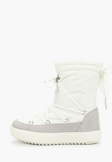 Дутики, Mon Ami, цвет: белый. Артикул: MO151AWDXYB1. Обувь