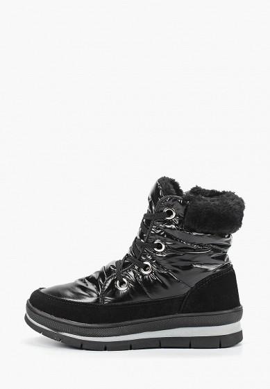 Дутики, Mon Ami, цвет: черный. Артикул: MO151AWDXYB3. Обувь