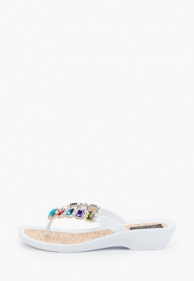 Сланцы, Mon Ami, цвет: белый. Артикул: MO151AWIRUY8. Обувь