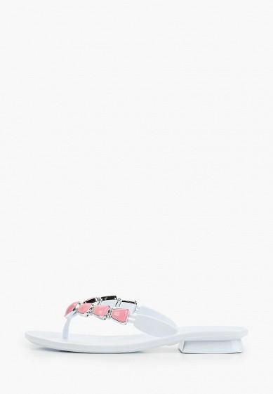 Сланцы, Mon Ami, цвет: белый. Артикул: MO151AWIRUY9. Обувь