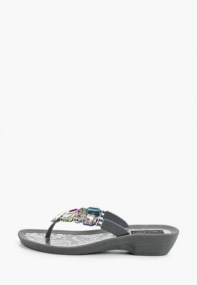 Сланцы, Mon Ami, цвет: серый. Артикул: MO151AWIRVA3. Обувь
