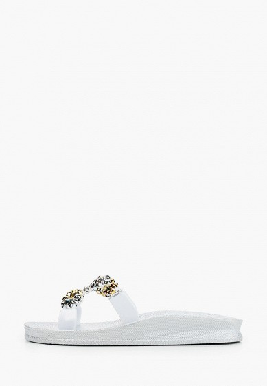 Сланцы, Mon Ami, цвет: серый. Артикул: MO151AWIRVA6. Обувь