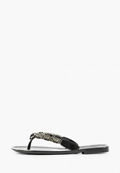 Сланцы, Mon Ami, цвет: черный. Артикул: MO151AWIRVB8. Обувь