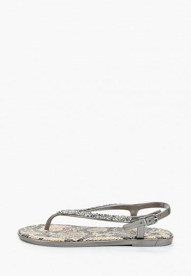 Сандалии, Mon Ami, цвет: серый. Артикул: MO151AWIRVP2. Обувь