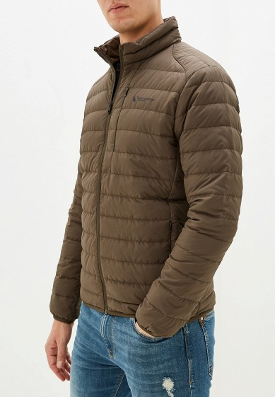 Куртка утепленная, Anta, цвет: хаки. Артикул: MP002XM07W3J. Одежда / Верхняя одежда