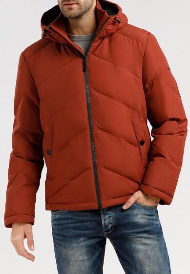 Куртка утепленная, Finn Flare, цвет: красный. Артикул: MP002XM07X2Y.