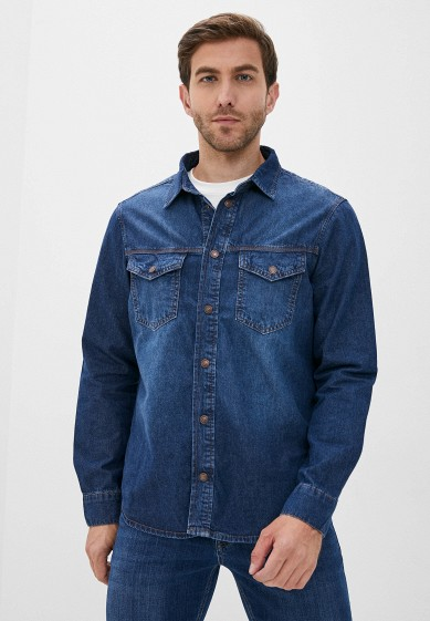 Рубашка джинсовая Whitney за 3 184 ₽. в интернет-магазине Lamoda.ru