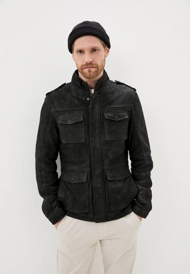 Куртка кожаная Urban Fashion for Men за 13 592 ₽. в интернет-магазине Lamoda.ru