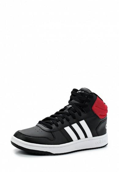 3d0a9ceceeba Кроссовки adidas Originals HOOPS 2.0 MID купить за 3 390 руб MP002XM0YGNC в  интернет-магазине Lamoda.ru