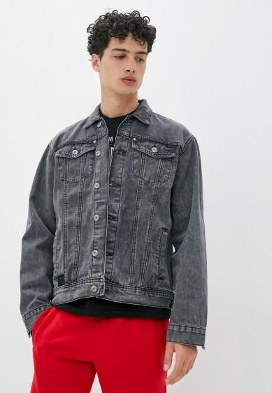 Куртка джинсовая Ombre за 7 900 ₽. в интернет-магазине Lamoda.ru