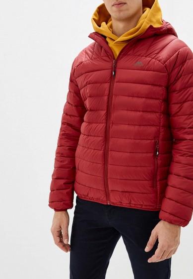 Пуховик, Trespass, цвет: бордовый. Артикул: MP002XM1UGXD. Одежда / Верхняя одежда