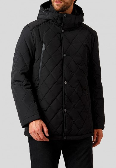Куртка утепленная, Finn Flare, цвет: черный. Артикул: MP002XM23YXU. Одежда / Верхняя одежда / Пуховики и зимние куртки