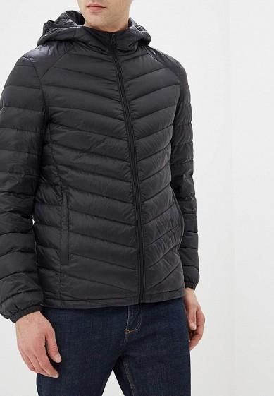 Пуховик, Snowimage, цвет: черный. Артикул: MP002XM23ZI8. Одежда / Верхняя одежда / Пуховики и зимние куртки