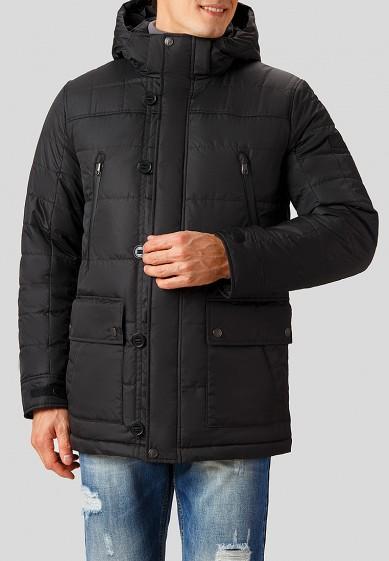 Куртка утепленная, Finn Flare, цвет: черный. Артикул: MP002XM2408G. Одежда / Верхняя одежда / Пуховики и зимние куртки