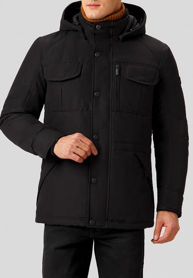 Куртка утепленная, Finn Flare, цвет: черный. Артикул: MP002XM2408S. Одежда / Верхняя одежда / Пуховики и зимние куртки