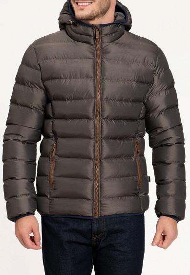 Куртка утепленная, Amimoda, цвет: коричневый. Артикул: MP002XM240G9. Одежда / Верхняя одежда / Пуховики и зимние куртки