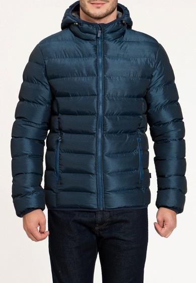 Куртка утепленная, Amimoda, цвет: синий. Артикул: MP002XM240GK. Одежда / Верхняя одежда / Пуховики и зимние куртки