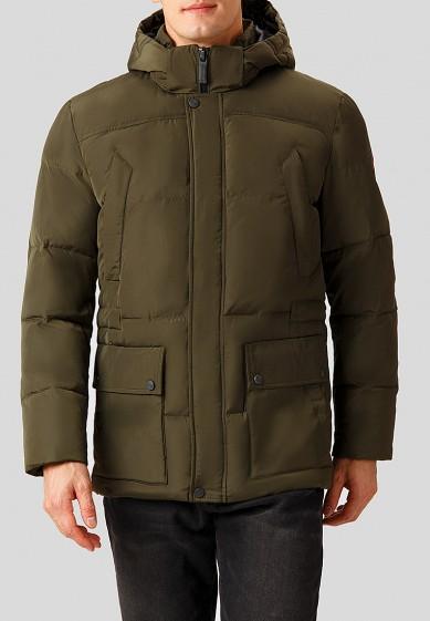 Куртка утепленная, Finn Flare, цвет: хаки. Артикул: MP002XM2416M. Одежда / Верхняя одежда / Пуховики и зимние куртки