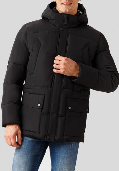 Куртка утепленная, Finn Flare, цвет: черный. Артикул: MP002XM24171. Одежда / Верхняя одежда / Пуховики и зимние куртки