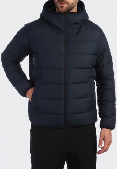 Пуховик, Anta, цвет: синий. Артикул: MP002XM243IP. Одежда / Верхняя одежда / Пуховики и зимние куртки