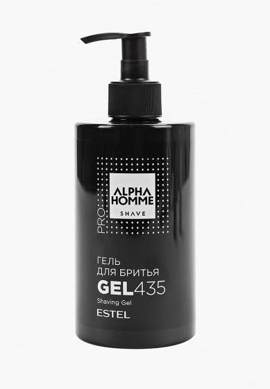 Гель для бритья Estel ALPHA HOMME PRO SHAVE ESTEL PROFESSIONAL 435 мл за 770 ₽. в интернет-магазине Lamoda.ru