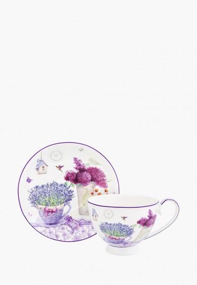 Чашка с блюдцем Elan Gallery за 817 ₽. в интернет-магазине Lamoda.ru