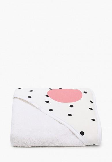 """Заяц на подушке Полотенце с капюшоном, """"Мемфис"""", 75х75 см"""