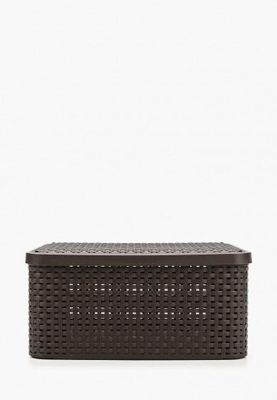 Короб для хранения Curver RATTAN STYLE BOX M, 29х40 см за 1 399 ₽. в интернет-магазине Lamoda.ru