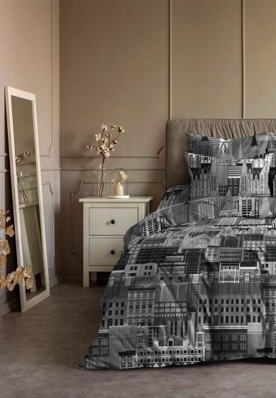 Постельное белье 1,5-спальное Ночь нежна Город за 2 299 ₽. в интернет-магазине Lamoda.ru