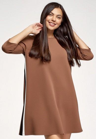 Платье oodji за 799 ₽. в интернет-магазине Lamoda.ru