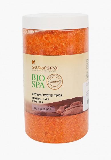 Соль для ванн Sea of Spa SEA of SPA Соль с натуральным ароматом жасмина и минералами Мертвого моря (производство Израиль), 1 кг за 525 ₽. в интернет-магазине Lamoda.ru