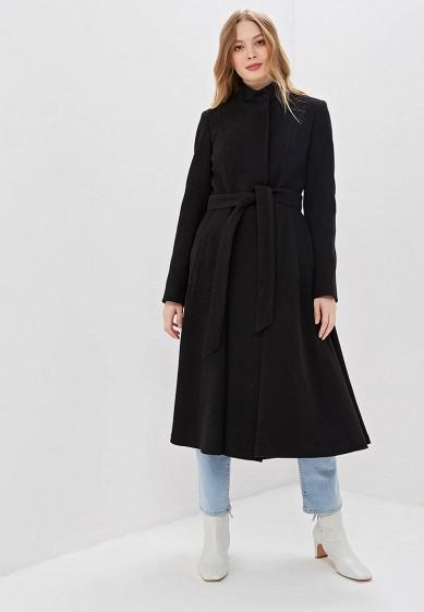 Пальто, Karolina, цвет: черный. Артикул: MP002XW0EQJU. Одежда / Верхняя одежда / Пальто