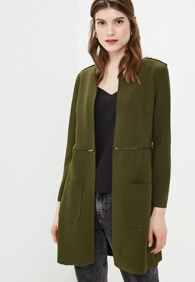 Пальто, Moon River, цвет: хаки. Артикул: MP002XW0F11A. Одежда / Верхняя одежда / Пальто