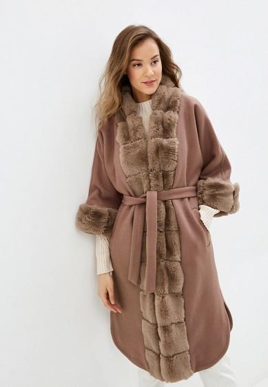 Пальто, Glam Goddess, цвет: бежевый. Артикул: MP002XW0GS8J. Одежда / Верхняя одежда / Пальто / Зимние пальто