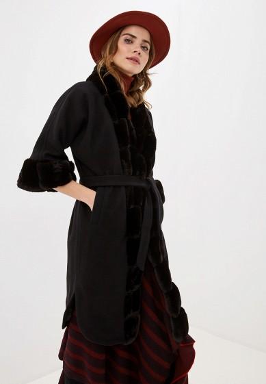Пальто, Glam Goddess, цвет: черный. Артикул: MP002XW0GS8K. Одежда / Верхняя одежда / Пальто / Зимние пальто