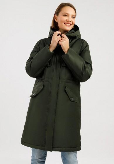 Пуховик, Finn Flare, цвет: зеленый. Артикул: MP002XW0GTMN.