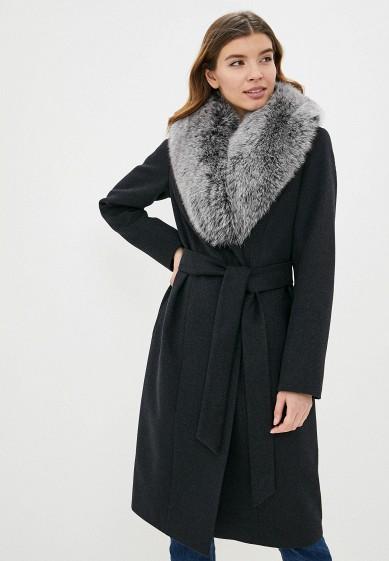 Пальто, Samos fashion group, цвет: серый. Артикул: MP002XW0HFR7. Одежда / Верхняя одежда / Пальто / Зимние пальто