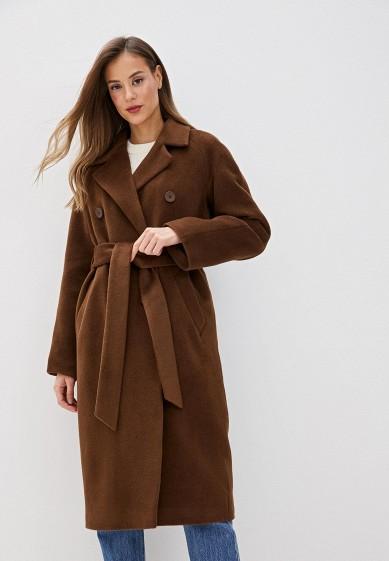 Пальто, Wolfstore, цвет: коричневый. Артикул: MP002XW0HGY1. Одежда / Верхняя одежда / Пальто / Зимние пальто