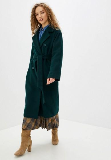 Пальто, Wolfstore, цвет: бирюзовый. Артикул: MP002XW0HGYB. Одежда / Верхняя одежда / Пальто / Зимние пальто