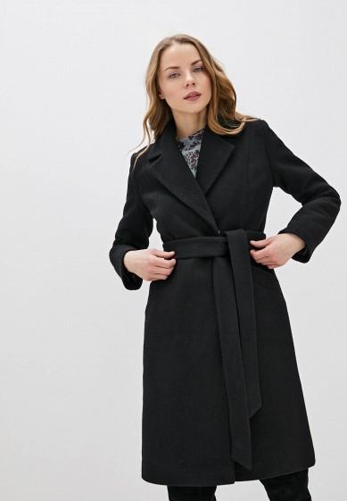 Пальто, Karolina, цвет: черный. Артикул: MP002XW0HKKW. Одежда / Верхняя одежда / Пальто / Зимние пальто