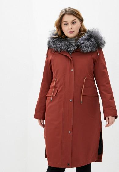 Парка, Grafinia, цвет: коричневый. Артикул: MP002XW0HL9J. Одежда / Верхняя одежда / Пальто / Зимние пальто