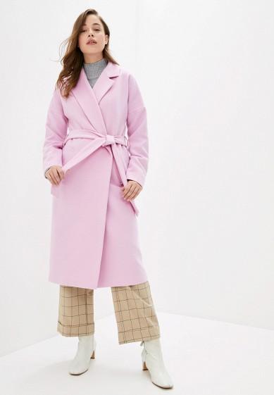 Пальто, Wolfstore, цвет: розовый. Артикул: MP002XW0HZU9. Одежда / Верхняя одежда / Пальто / Зимние пальто