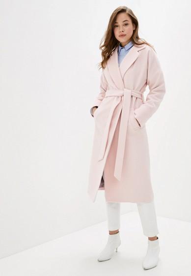 Пальто, Wolfstore, цвет: бежевый, розовый. Артикул: MP002XW0HZUA. Одежда / Верхняя одежда / Пальто / Зимние пальто