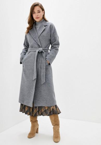 Пальто, Wolfstore, цвет: серый. Артикул: MP002XW0HZUT. Одежда / Верхняя одежда / Пальто / Зимние пальто