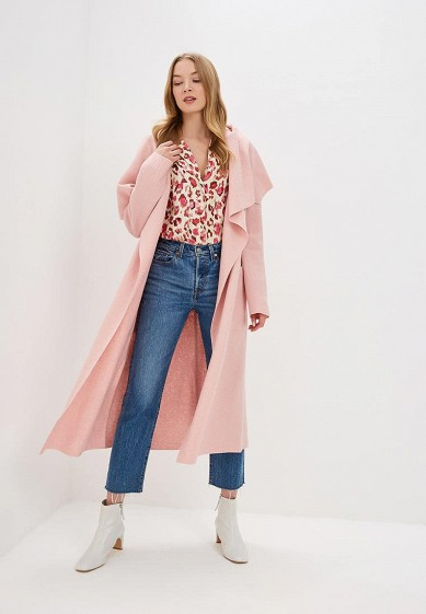 Пальто, Ла Треви, цвет: розовый. Артикул: MP002XW0MPH2. Одежда / Верхняя одежда / Пальто