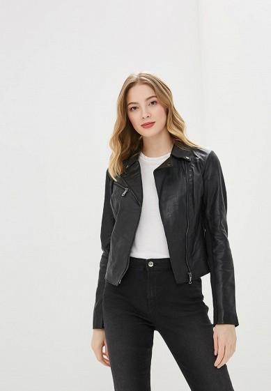 Куртка, La Reine Blanche, цвет: хаки. Артикул: MP002XW0N3HM. Одежда / Верхняя одежда / Кожаные куртки