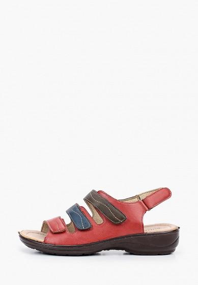 Сандалии, Instreet, цвет: красный. Артикул: MP002XW0QIOQ. Обувь