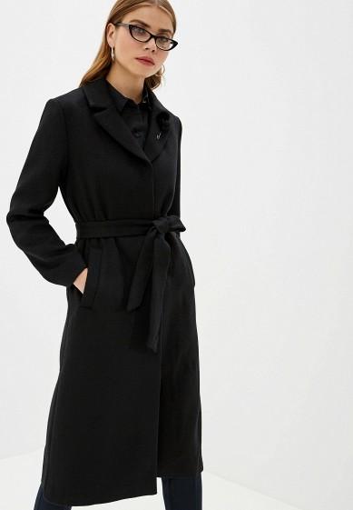 Пальто, Zarina, цвет: черный. Артикул: MP002XW0R78W. Одежда / Верхняя одежда / Пальто