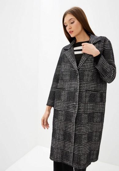 Пальто, Zarina, цвет: черный. Артикул: MP002XW0RAHP. Одежда / Верхняя одежда / Пальто
