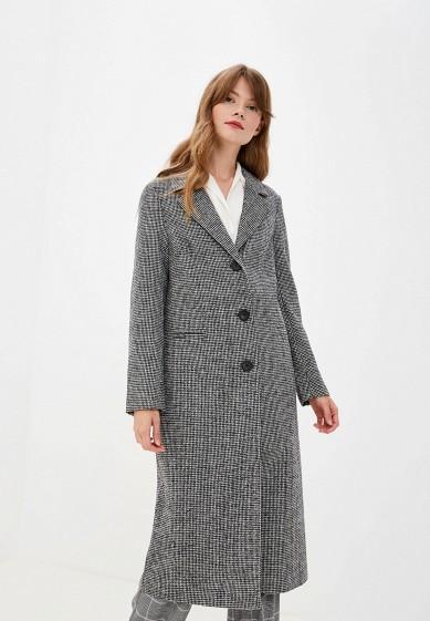 Пальто, Zarina, цвет: серый. Артикул: MP002XW0RBV4. Одежда / Верхняя одежда / Пальто